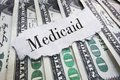 Medicaid headline Royalty Free Stock Photo