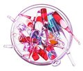 Medical ampules in glass bow Stock Photo