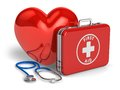 Medical assistance and cardiology concept