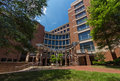 Medical biomolecular research building at unc chapel hill the university of north carolina in chapeil north carolina built in Royalty Free Stock Photos