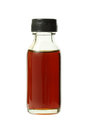 Medical bottle with brown liquid Royalty Free Stock Photo