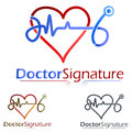 Medical care logo concept symbol illustration icon Stock Photos