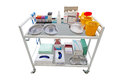 Medical cart the image of a Royalty Free Stock Image