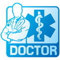 Medical doctor symbol Stock Photo