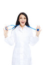 Medical doctor woman Stock Photography