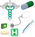 Medical elements Stock Photography
