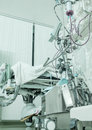 Medical equipment in a hospital ward photo Royalty Free Stock Image