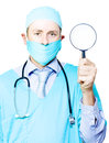 Medical examination and investigation Stock Images