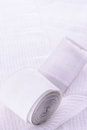 Medical gauze white see my other works portfolio Royalty Free Stock Photography