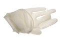 Medical glove isolated Royalty Free Stock Image
