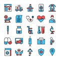 medical icon set- Vector medical service icons for healthcare service