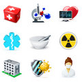 Medical and healthcare icons | Bella series Stock Photos
