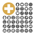 Medical Icon Set Vector Illust...