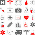 Medical icons Stock Photography
