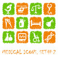 Medical icons Stock Photos