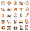 Medical icons Stock Images