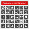 Medical icons healthcare and icon set Royalty Free Stock Image