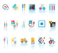 Medical icons set collection of and symbols Stock Images