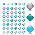 Medical icons set. Vector Royalty Free Stock Photo