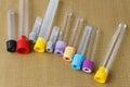 Medical instruments, medical blood tube, test tube