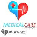 Medical logo concept symbol illustration icon Stock Images