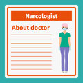 Medical notes about narcologist