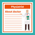 Medical notes about physiatrist