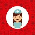Medical nurse woman