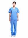 Medical nurse. Royalty Free Stock Photo