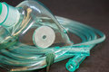 Medical Oxygen Mask Royalty Free Stock Photo