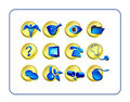 Medical & Pharmacy Icon Set, G Stock Image