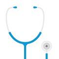 Medical phonendoscope vector.