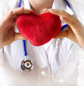 Medical prevention heart close up concept Royalty Free Stock Photography
