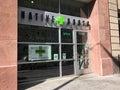 Medical and recreational marijuana dispensary in Denver, Colorado. Royalty Free Stock Photo