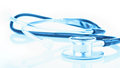 Medical Stethoscope On White B...