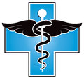 Medical symbol a medicine logo or icon Stock Photography