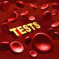 Medical tests Royalty Free Stock Photo