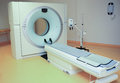 Medical tomograph in clinic Royalty Free Stock Photo