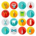 Medical Tools Flat Icons Royalty Free Stock Photo
