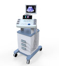 Medical ultrasound diagnostic machine isolated on white background d render Royalty Free Stock Photos