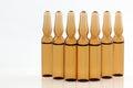 Medical vials for injection drug Stock Images