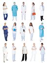 Medical workers, doctors, nurses Royalty Free Stock Image