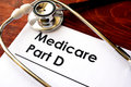 Medicare Part D. Royalty Free Stock Photo