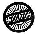 Medication rubber stamp