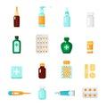 Medications Icon Set