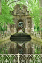 Medici Fountain-Luxembourg Garden Royalty Free Stock Photography