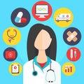 Medicine concept vector