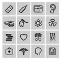 Medicine heath care icons this is file of eps format Royalty Free Stock Images