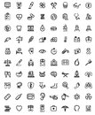 Medicine heath care icons this is file of eps format Stock Images