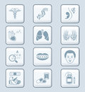 Medicine icons | TECH series Royalty Free Stock Photo